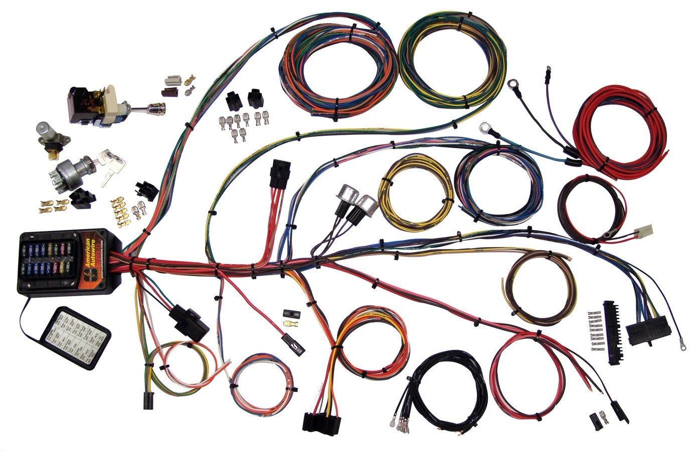 [DIAGRAM_09CH]  American Autowire 510006 Car Wiring Harness, Builder 19 Seri | Gm Automotive Wiring Harness |  | Dan Hellmer Racing Solutions