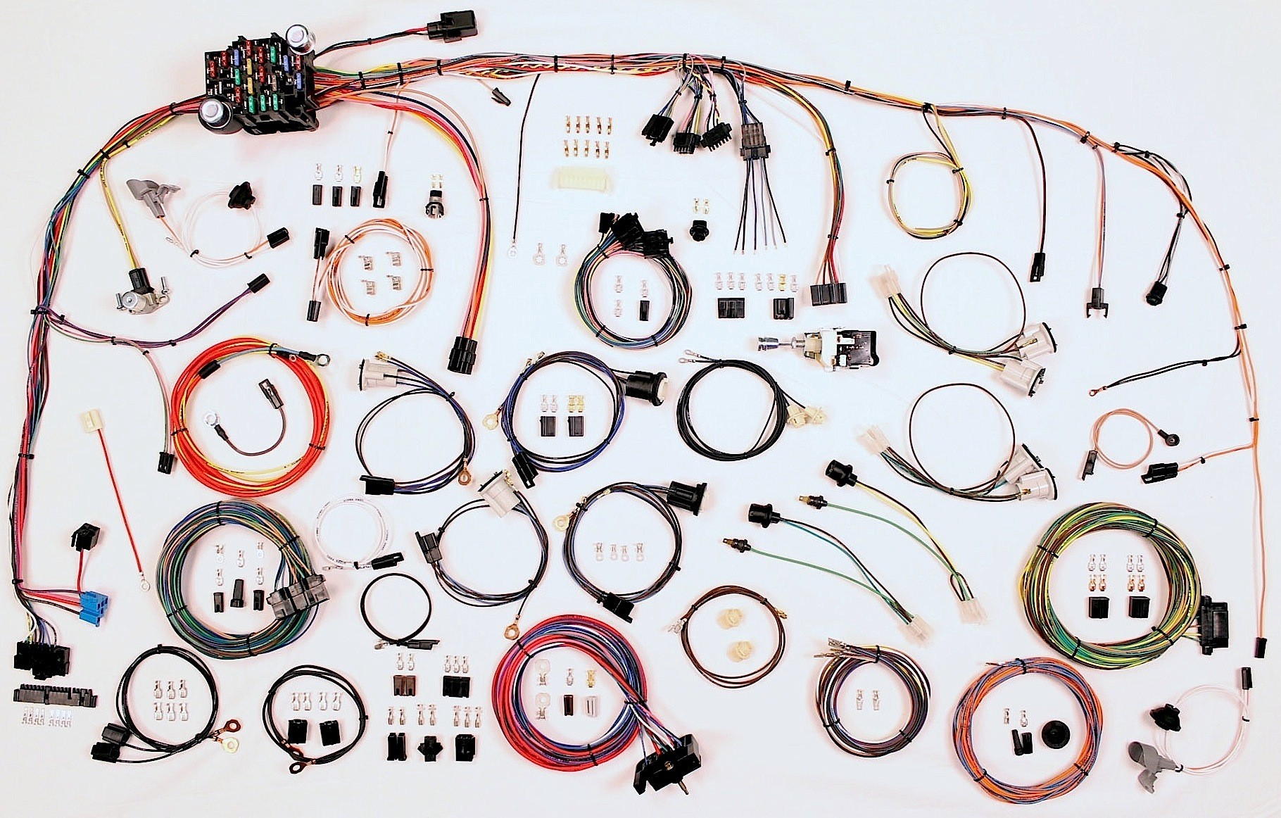 American Autowire 510347 Car Wiring Harness, Classic Update, Complete, GM Truck 1973-82, Kit