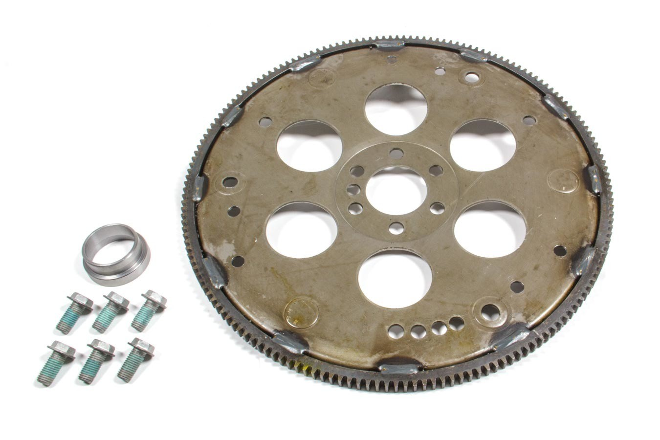 Advance Adapters 712500A Transmission Adapter, Flexplate, Flexplate Bolts/Crank Spacer Included, TH350/700r/200R4 Transmission to GM LS-Series, Kit