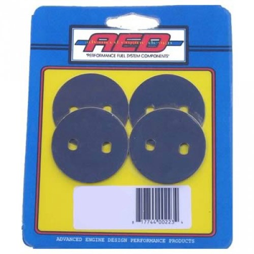 AED Performance 6062 Throttle Plate Kit, Thin, 1-11/16 in OD, Steel, Holley Carburetors, Kit