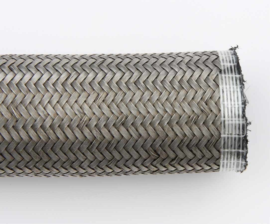 Aeroquip FCA0820 Hose, AQP Racing Hose, 8 AN, 20 ft, Braided Stainless, Rubber, Natural, Each