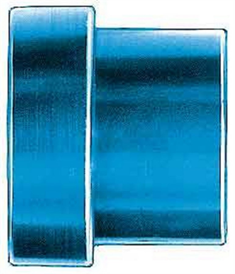 Aeroquip FCM3670 Fitting, Tube Sleeve, 4 AN, 1/4 in Tube, Aluminum, Blue Anodize, Set of 6