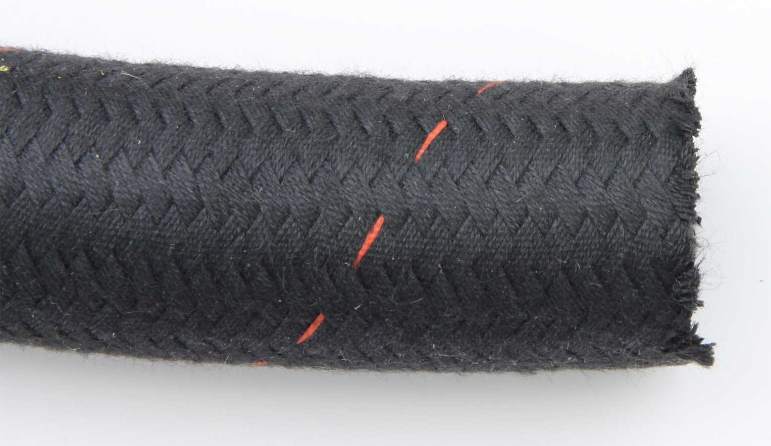 Aeroquip FCU1220 Hose, Startlite Racing Hose, 12 AN, 20 ft, Braided Nomex / Kevlar, AQP Smooth Bore, Black, Each