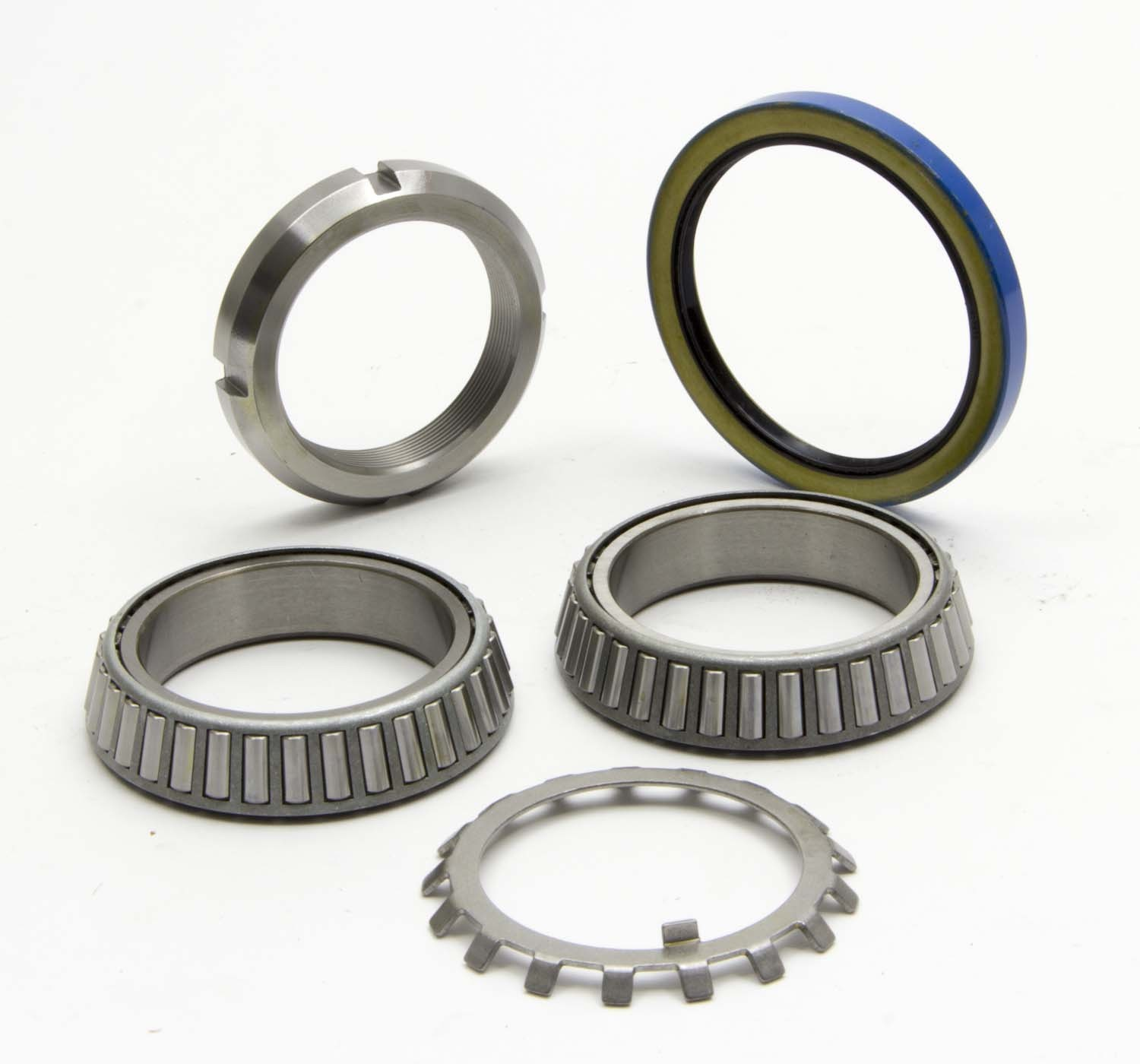 AFCO Racing Products 10355 Wheel Bearing Kit, Bearings/Seal/Nuts/Washer, Gn/Super Speedway/Howe Hubs, Lock Nut, Kit