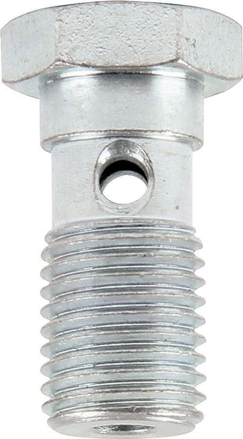 Allstar Performance 50072 Banjo Bolt, Single Banjo, 7/16-20 in Thread, Steel, Zinc Oxide, Pair