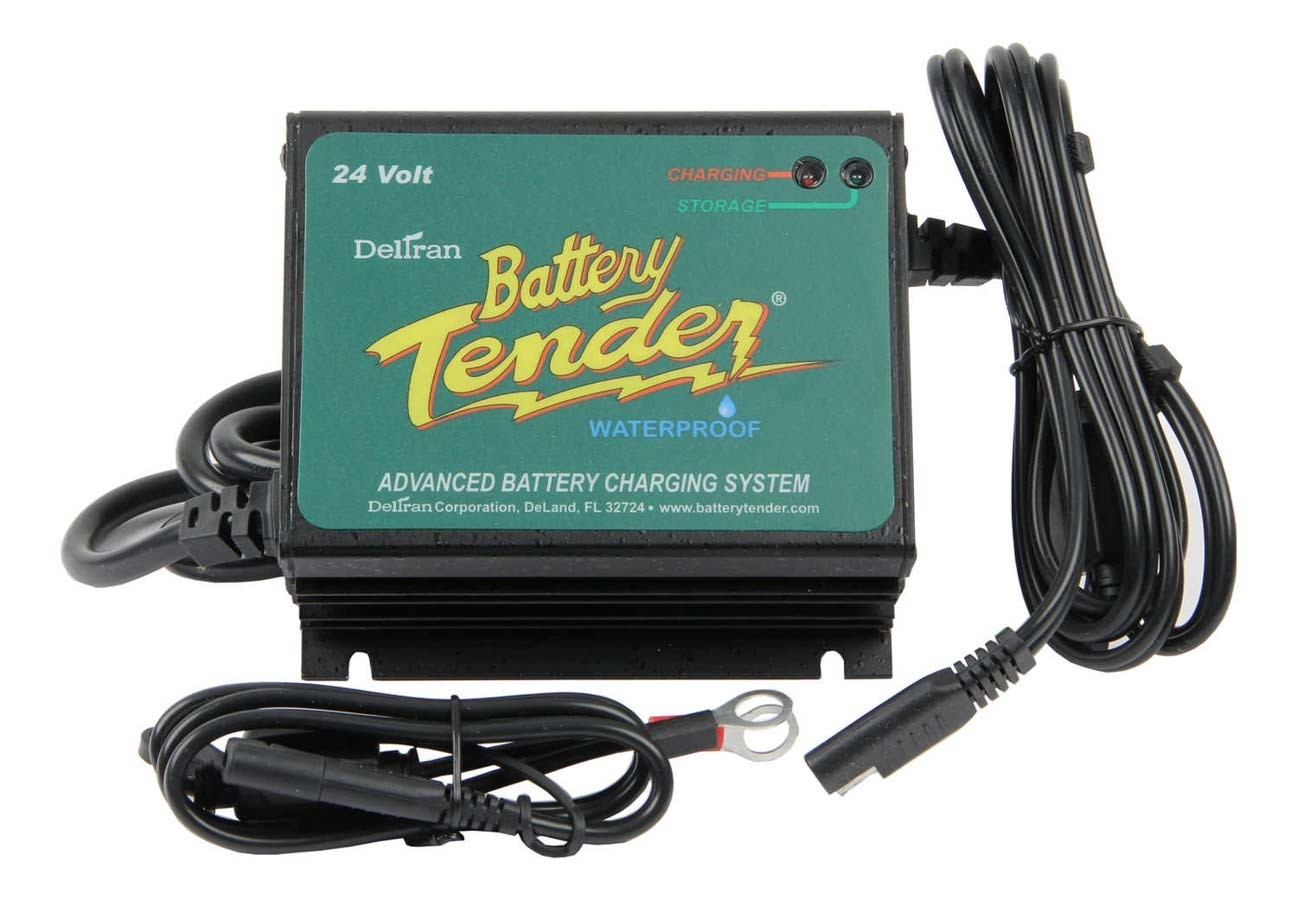 Deltran Battery Tender Waterproof Charger Plus 24 Volt 2.5AMP 022-0158-1
