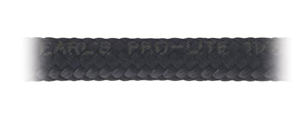 Earls 350608ERL Hose, Pro-Lite 350, 8 AN, 6 ft, Braided Nylon / Rubber, Black, Each