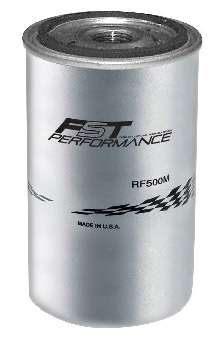 FST Performance RF500M Fuel Filter Element, 3 Micron, Stainless Element, FST Performance Canister Fuel Filters, Each