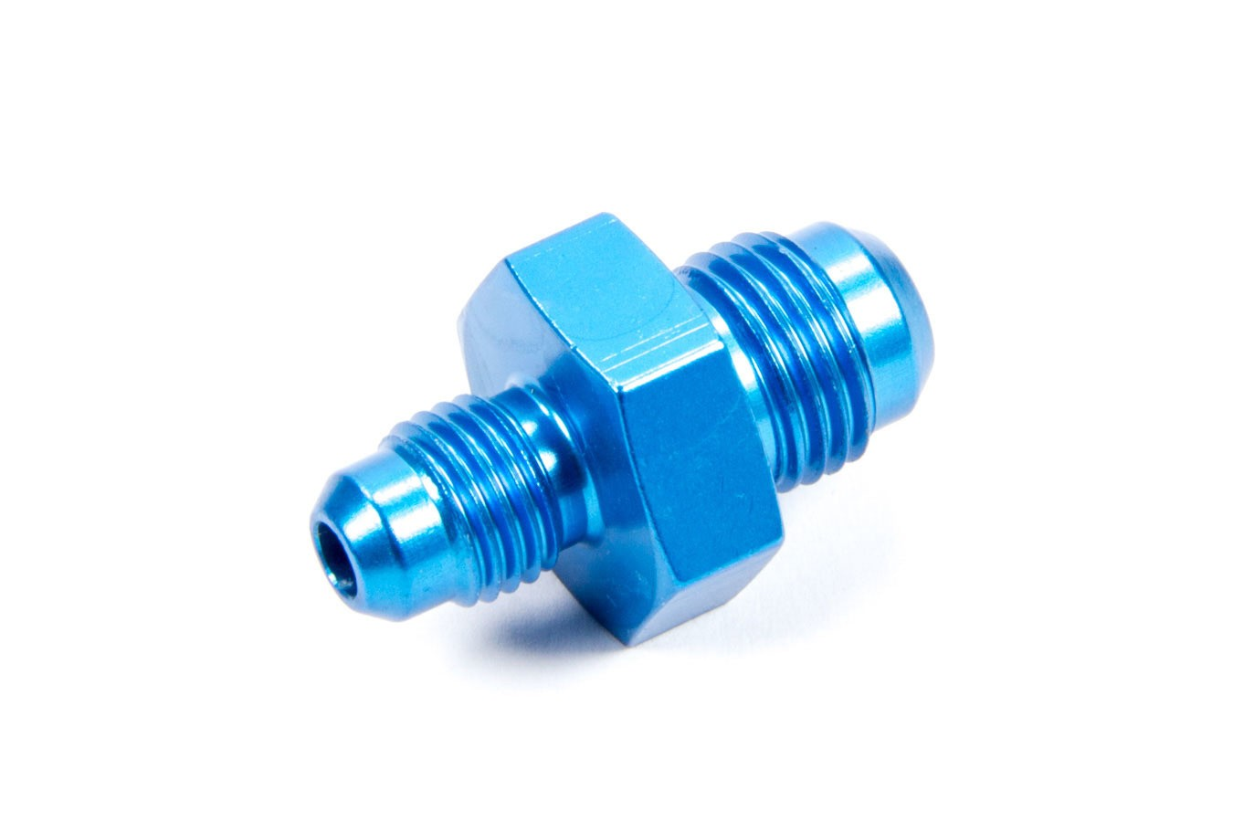 Fragola 491906 Fitting, Adapter, Straight, 6 AN Male to 4 AN Male, Aluminum, Blue Anodize, Each