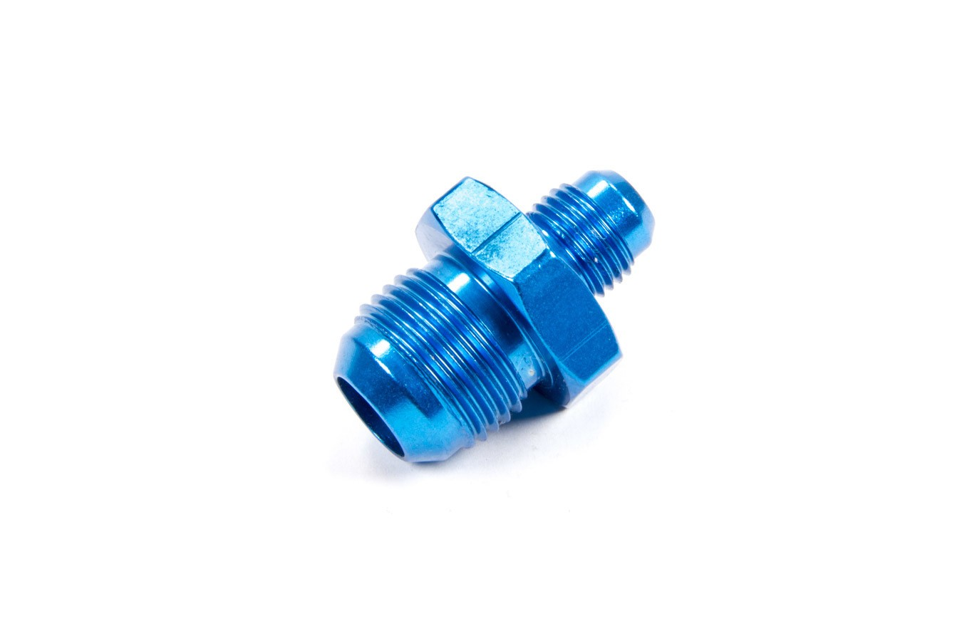 Fragola 491914 Fitting, Adapter, Straight, 10 AN Male to 6 AN Male, Aluminum, Blue Anodize, Each