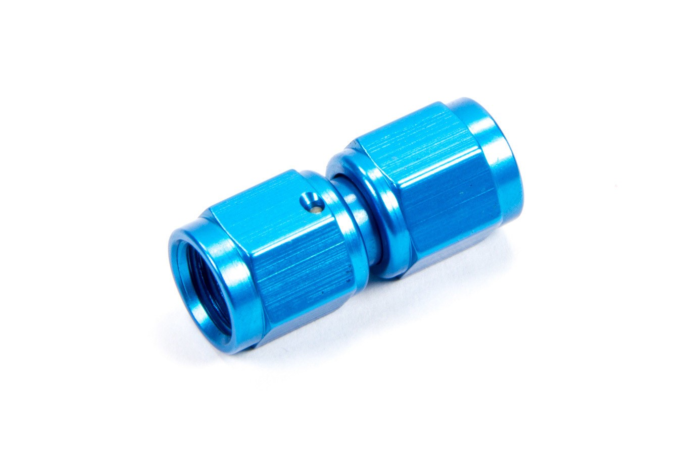 Fragola 496104 Fitting, Adapter, Straight, 4 AN Female Swivel to 4 AN Female Swivel, Aluminum, Blue Anodize, Each