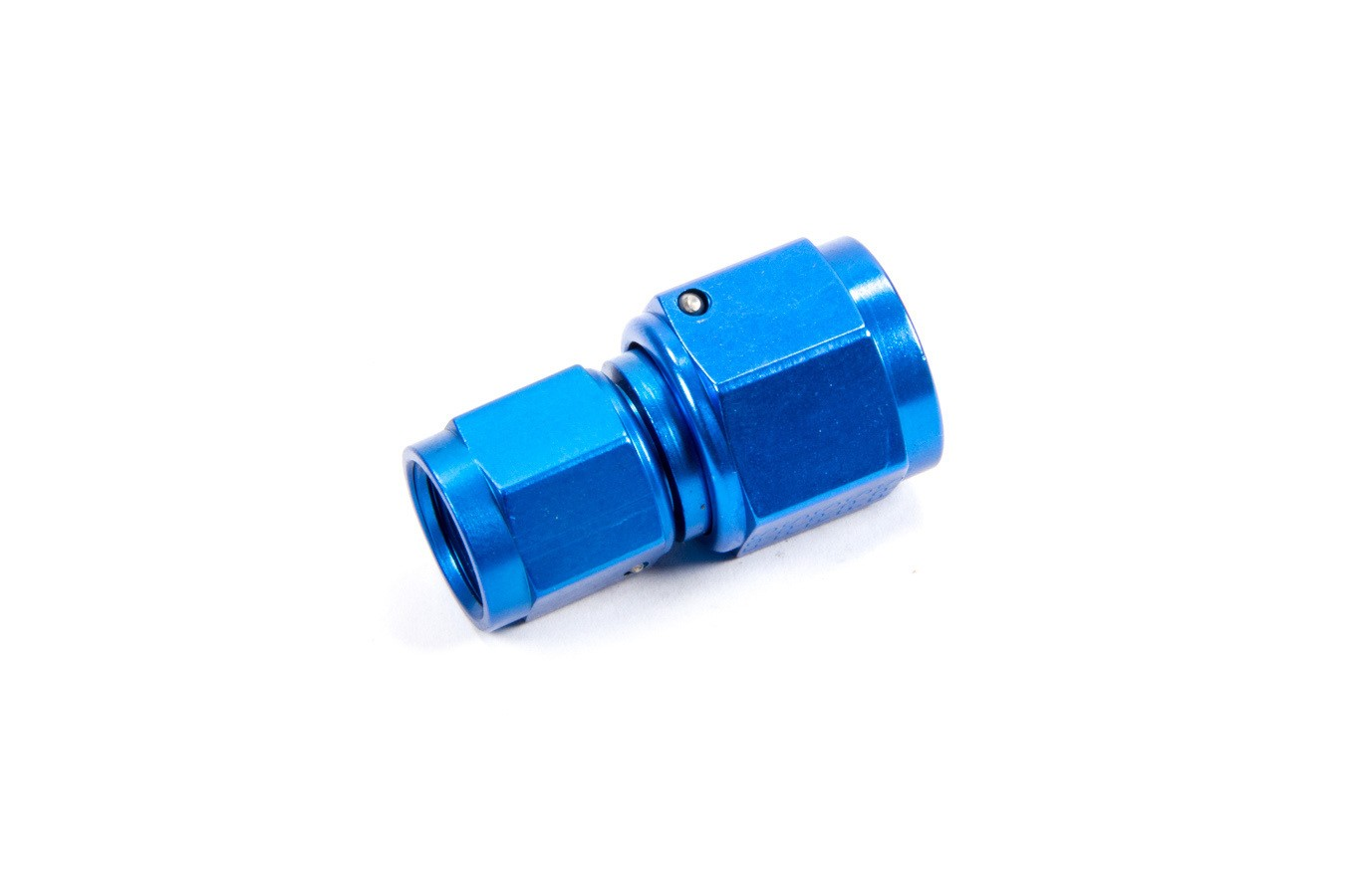 Fragola 496107 Fitting, Adapter, Straight, 6 AN Female Swivel to 8 AN Female Swivel, Aluminum, Blue Anodized, Each