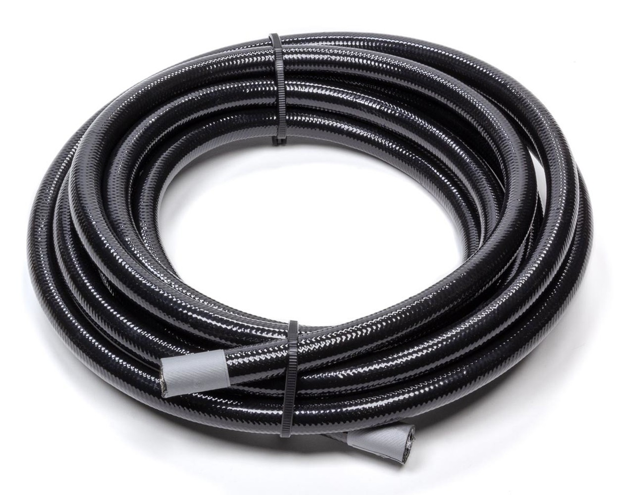 Fragola 601028 Hose, Series 6000, 8 AN, 10 ft, Braided Stainless, PTFE, Black, Each