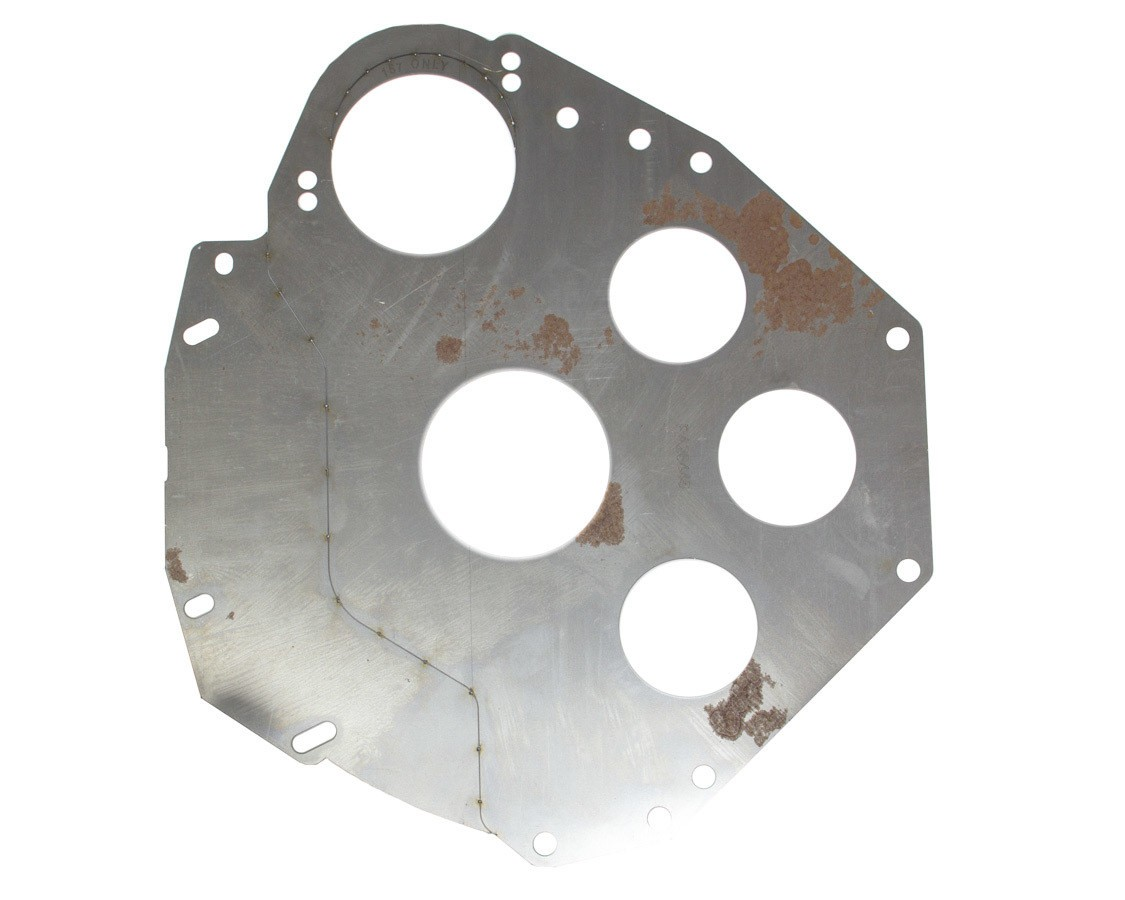 Performance Automatic PA26445 Bellhousing Plate, Steel, Natural, Various Applications, Each