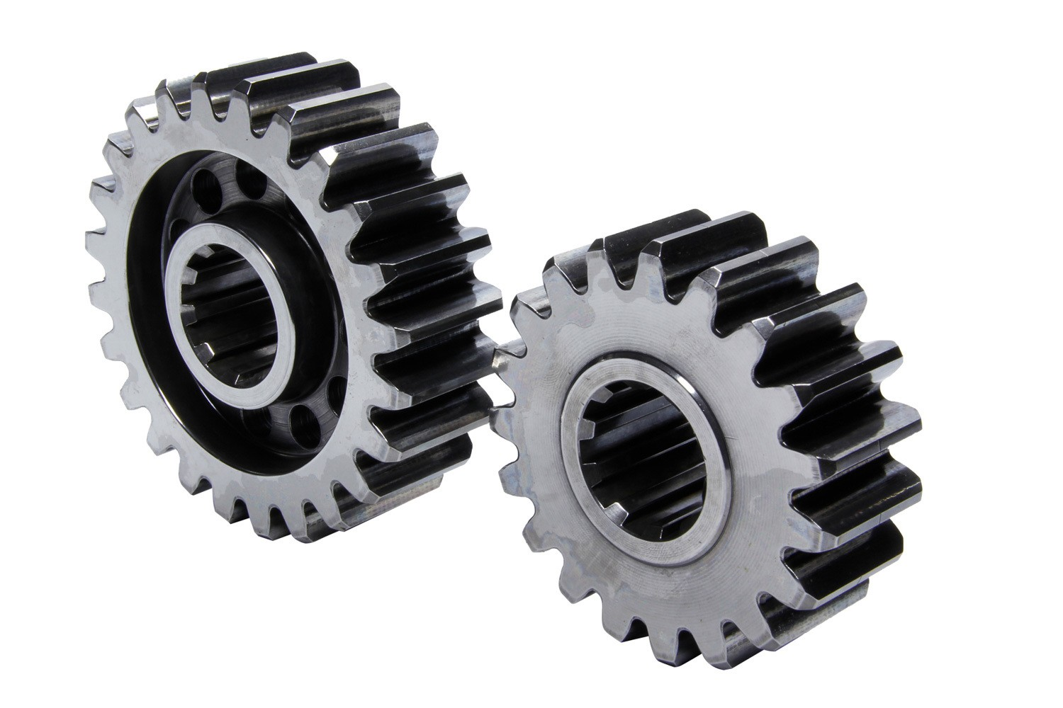 PEM 65018 Quick Change Gear Set, Premium, Set 18, 10 Spline, 4.11 Ratio 5.19 / 3.25, 4.86 Ratio 6.13 / 3.85, Steel, Each
