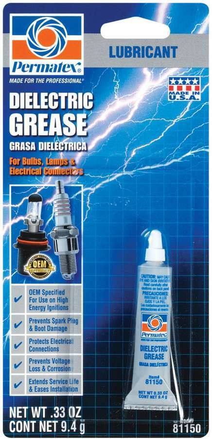 Permatex 81150 Dielectric Grease, 0.33 oz Tube, Each