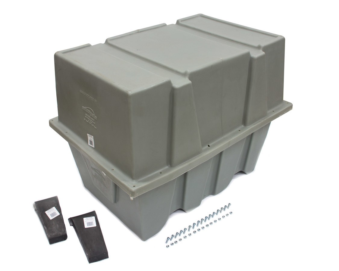 Scribner 5108 Engine Storage Case, Complete Engine, 40 x 27 x 30 in, Plastic, Gray, Small Block Chevy / Small Block Ford, Each