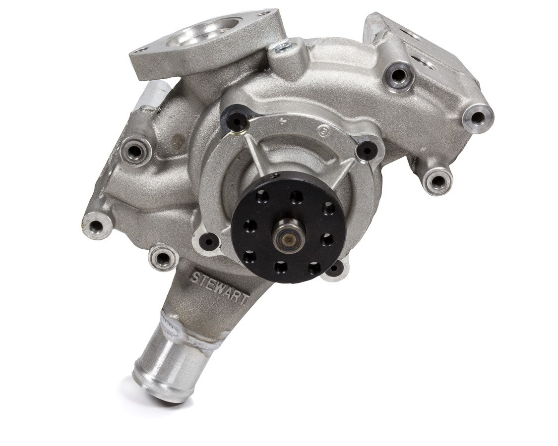 Stewart 50025L Water Pump, Mechanical, High Volume, Aluminum, Natural, GM LS-Series, Each