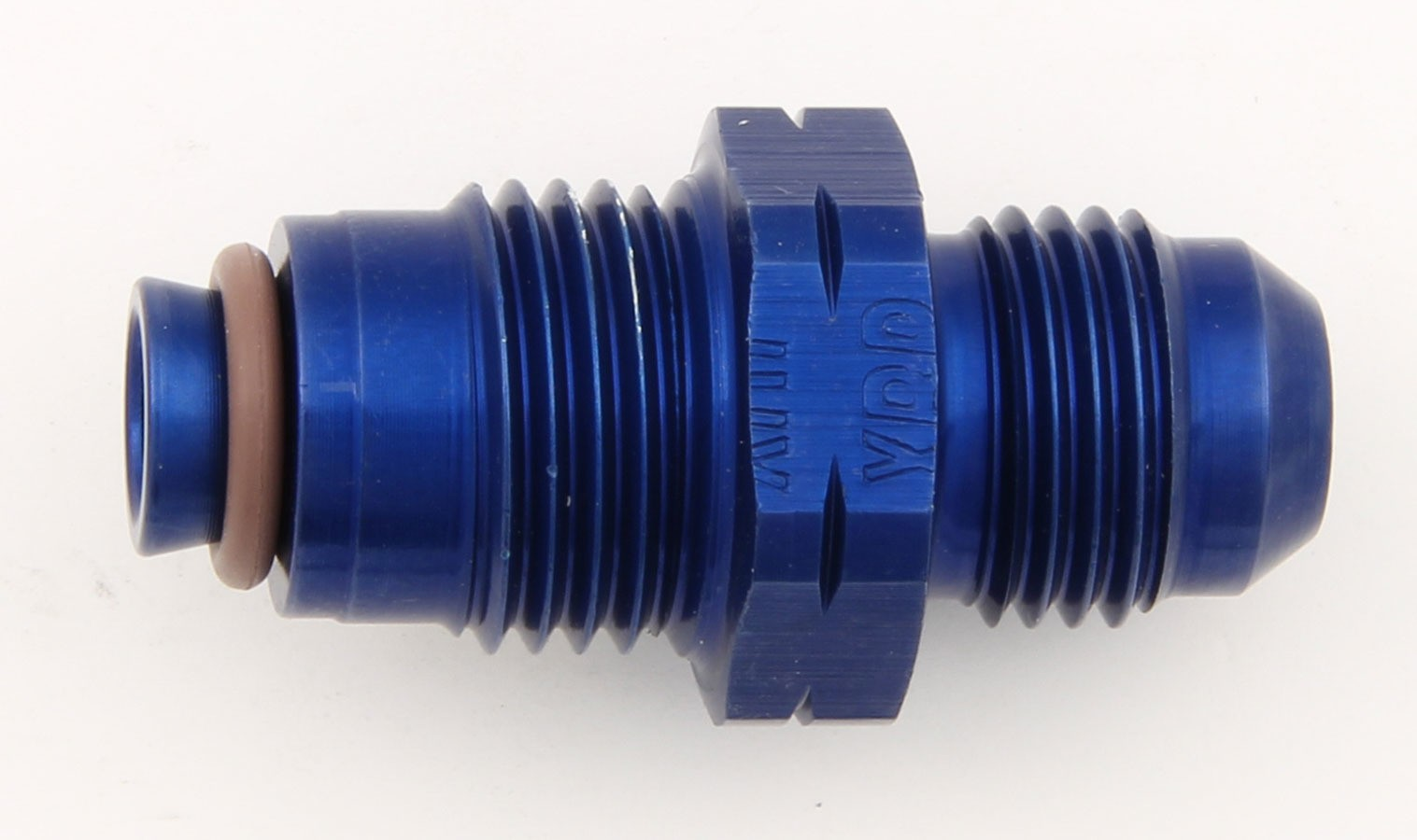 XRP 791615 Fitting, Adapter, Straight, 6 AN Male to 16 mm x 1.50 Male, Aluminum, Blue Anodize, Each
